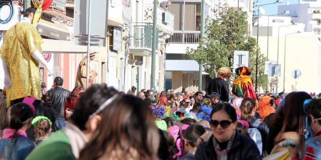 Olhão com Carnaval de todas as crianças do concelho