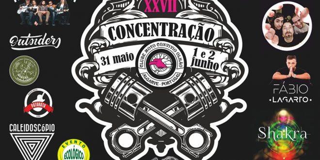 XXVII Concentração Moto Convívio Olhão – 2019