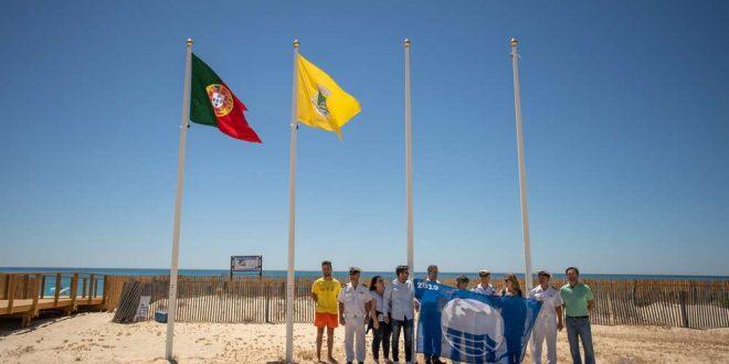 Olhão 2019 já têm as suas bandeiras azuis nas suas praias
