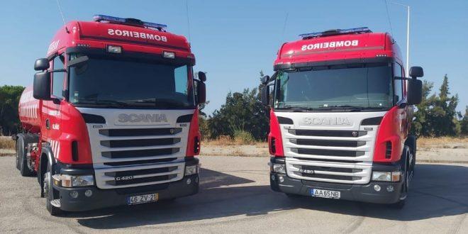 Bombeiros de Olhão renovam frota de autotanques