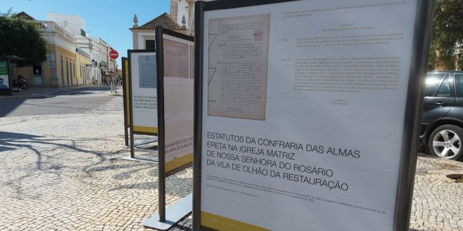 Município mostra mais documentos da história de Olhão na Av. da República