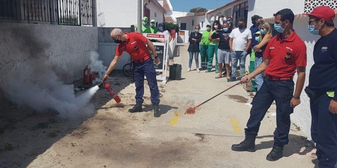 Bombeiros promovem acção de sensibilização na Ilha da Armona