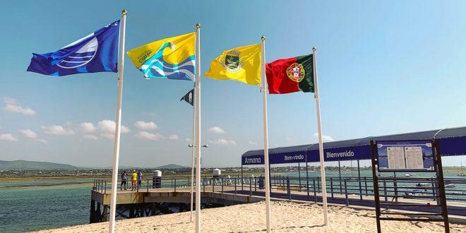 Qualidade de ouro 2021 atribuída a quatro praias olhanenses