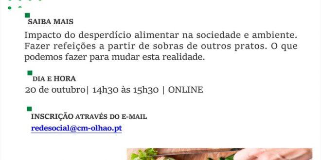 Dia Municipal para a Igualdade assinalado com webinar em Olhão